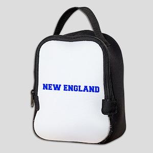 New England-Fre blue Neoprene Lunch Bag