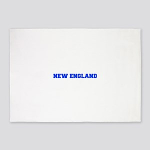 New England-Fre blue 5'x7'Area Rug