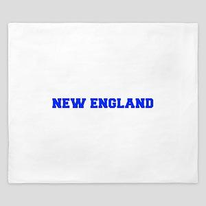 New England-Fre blue King Duvet