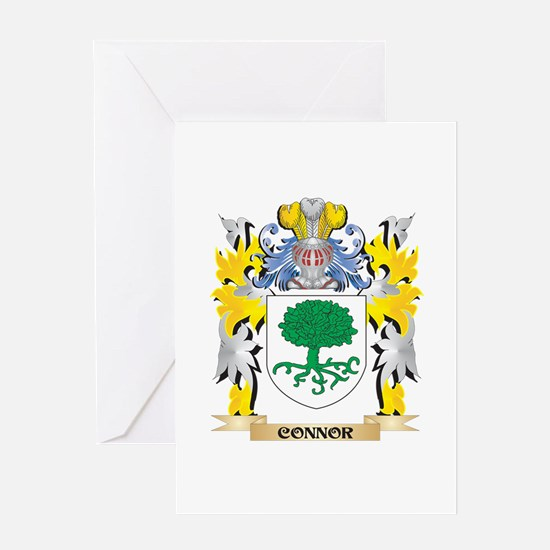 Connor Coat of Arms - Family Crest Greeting Cards