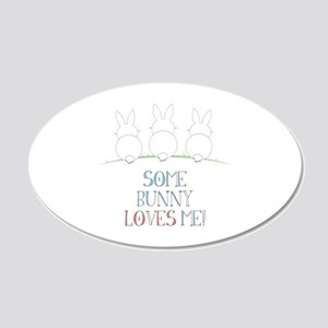 Some Bunny Loves Me Wall Decal