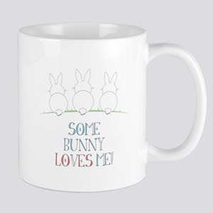 Some Bunny Loves Me Mugs