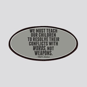 Words Not Weapons Patches