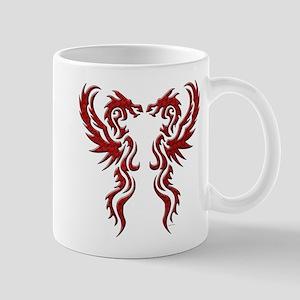 twin dragons (t) Mugs