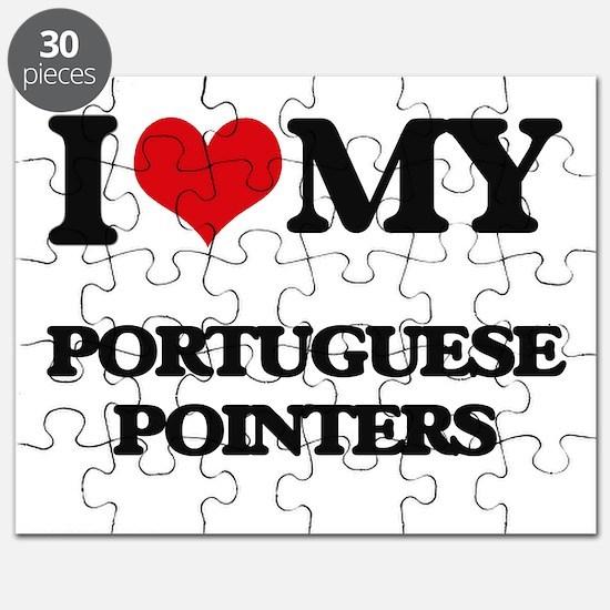 I love my Portuguese Pointers Puzzle