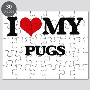 I love my Pugs Puzzle