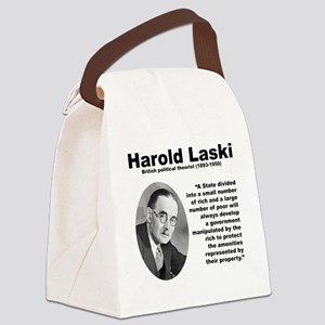 Laski Inequality Canvas Lunch Bag