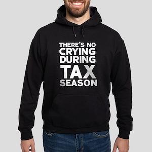 No Crying During Tax Season Hoodie (dark)