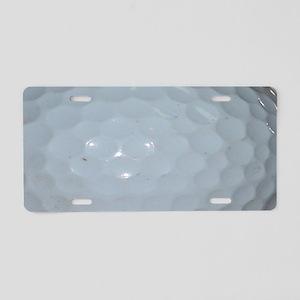 Golf Ball Aluminum License Plate