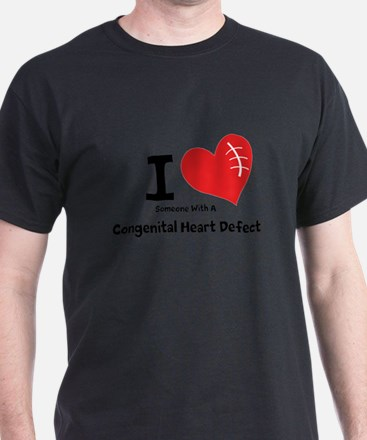 I Heart Someone with a CHD T-Shirt