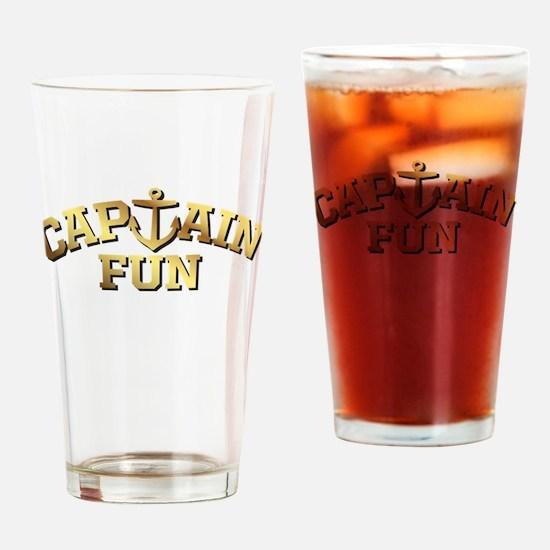 Captain Fun Drinking Glass