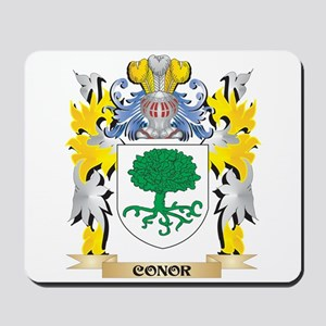 Conor Coat of Arms - Family Crest Mousepad