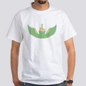 Flying Feck White T-Shirt