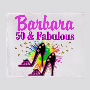 FANTASTIC 50TH Throw Blanket