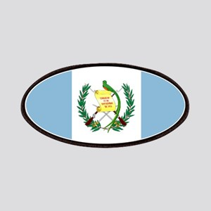 Guatemalan flag Patches