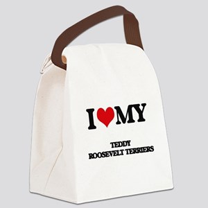 I love my Teddy Roosevelt Terrier Canvas Lunch Bag