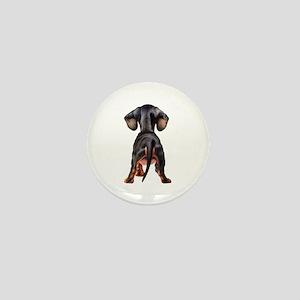 Dachshund Puppy Mini Button