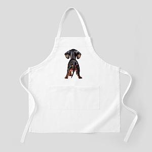 Dachshund Puppy BBQ Apron