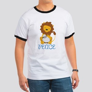LION AND LAMB PEACE T-Shirt