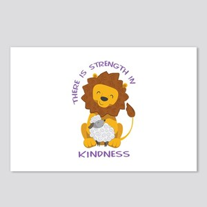 STRENGTH IN KINDNESS Postcards (Package of 8)