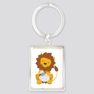 LION AND LAMB Keychains