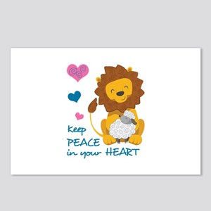 PEACE IN YOUR HEART Postcards (Package of 8)
