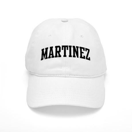 MARTINEZ (curve-black) Cap