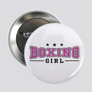 Boxing Girl Button