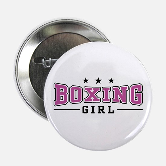 Boxing Girl Button