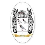Janata Sticker (Oval 10 pk)