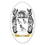 Janaszewski Sticker (Oval 50 pk)