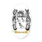 Janasik Oval Car Magnet