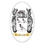 Janasik Sticker (Oval 10 pk)