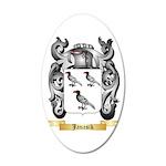 Janasik 20x12 Oval Wall Decal