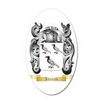 Janacek 35x21 Oval Wall Decal