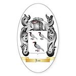 Jan Sticker (Oval 10 pk)