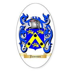 Jamison Sticker (Oval)