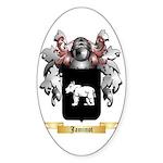 Jaminot Sticker (Oval 50 pk)