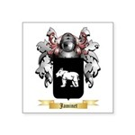Jaminet Square Sticker 3