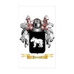 Jaminet Sticker (Rectangle 50 pk)