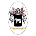 Jaminet Sticker (Oval 50 pk)