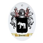 Jaminet Ornament (Oval)