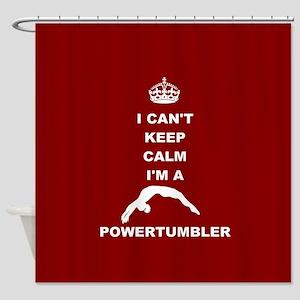 Powertumbling Shower Curtain