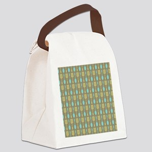 Retro Kitchen Cooking Utensils Canvas Lunch Bag