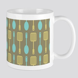 Retro Kitchen Cooking Utensils Mug