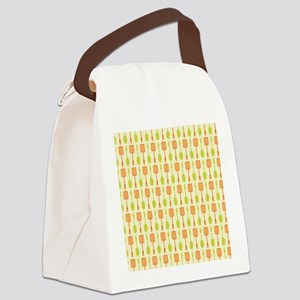 Retro Kitchen Cooking Utensils Canvas Lunch Bag