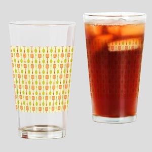 Retro Kitchen Cooking Utensils Drinking Glass