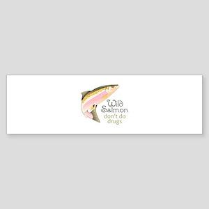 WILD SALMON Bumper Sticker