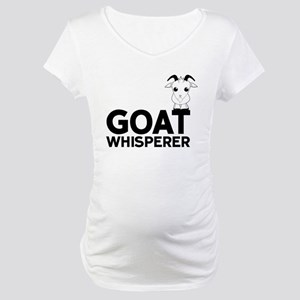 Goat Whisperer Maternity T-Shirt