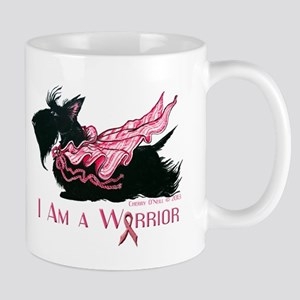 Scottish Breast Cancer Warrior Mugs